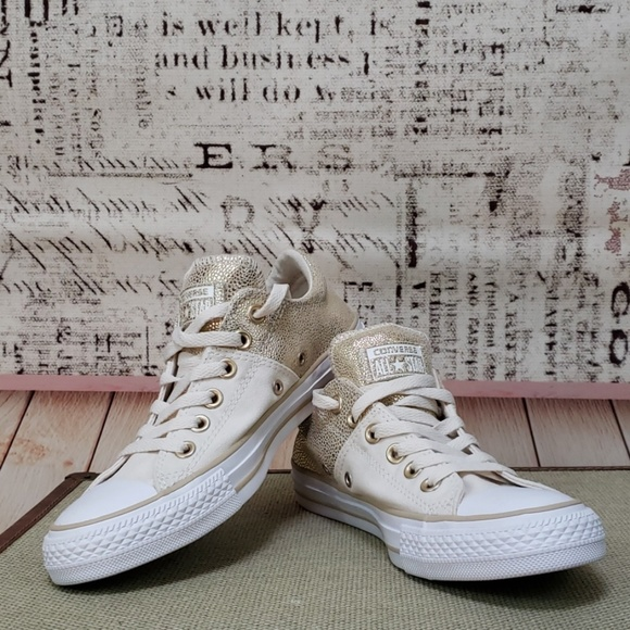 converse all star ecru